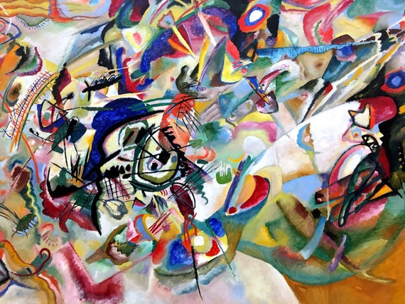 Composition VII peinture de Vassily Kandinsky