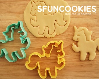 Cookie cutter unicorn x1,  Pierpaolo Pony the most irriverent biscuit cutter, Rubbits cookies, Bunny
