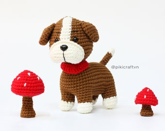 Crochet pattern keychain cute boxer. Crochet your own amigurumi ... | 270x340