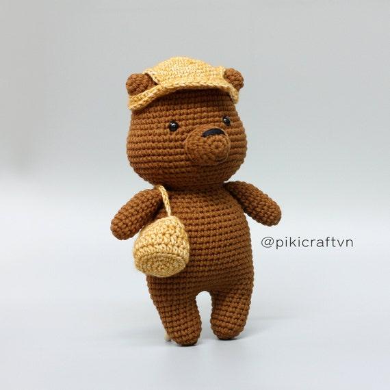 CROCHET PATTERN: We Bare Bears Inspired Bear Stack small   Etsy   570x570