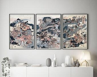 Japanese Wall Art >> Japanese Wall Art Etsy