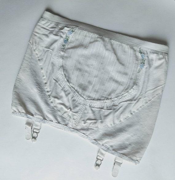 1960s volup girdle garter belt shapewear