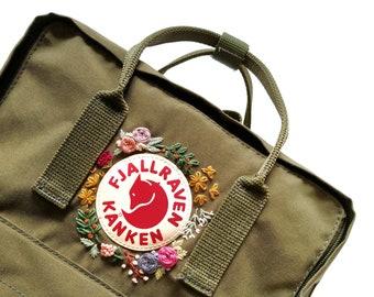 Kanken Backpack - Fjallraven Kanken - Custom embroidery Kanken - Hand  embroidery Kanken - Kanken classic embroidered backpack 3bb6d9f7348e8