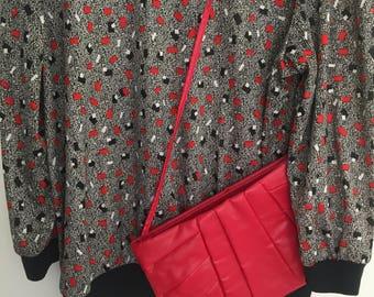 Vintage Purse, vintage patent leather purse, vintage handbag, vintage, vintage purse, purse, red purse, red handbag, red leather handbag,