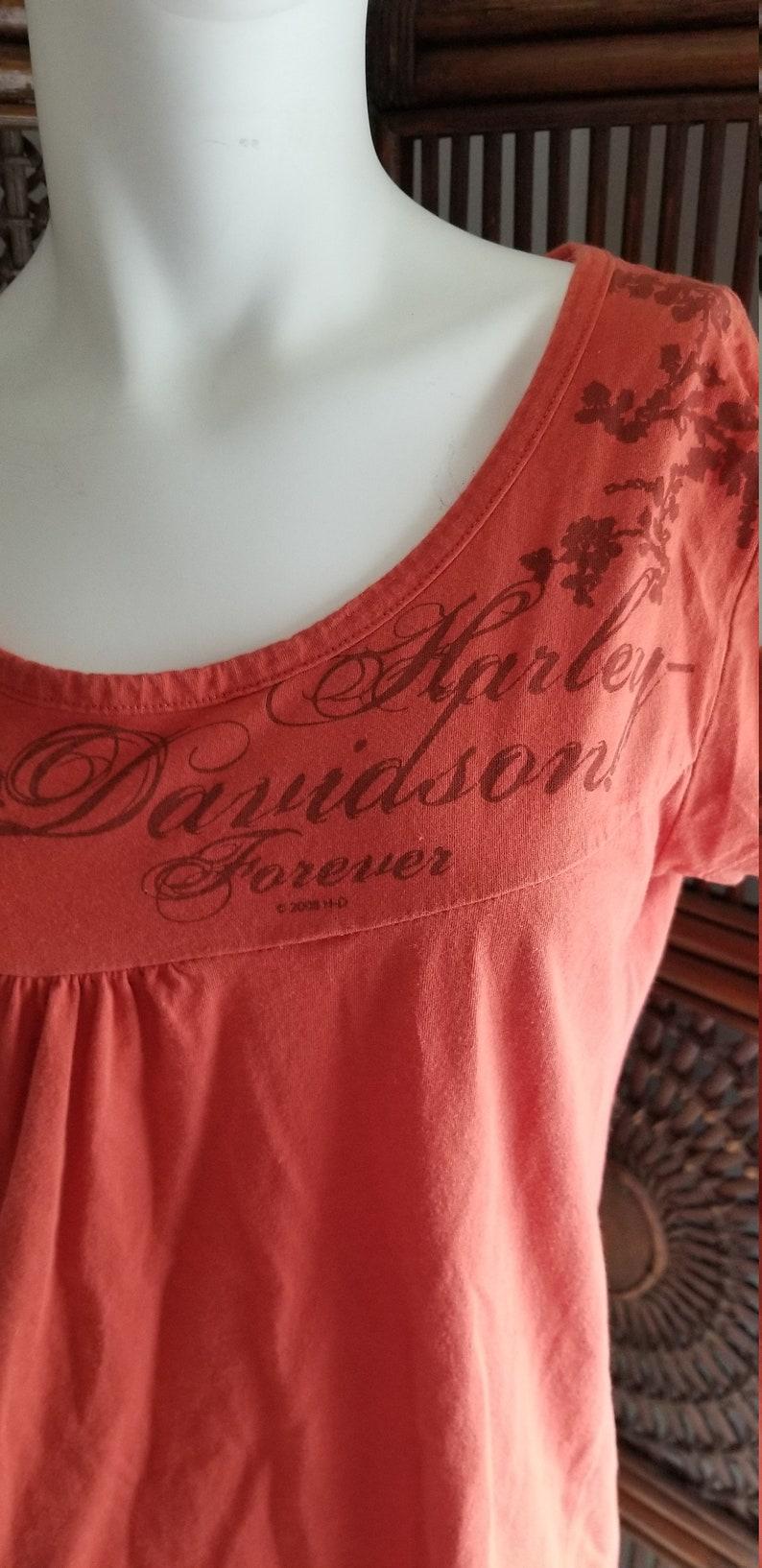 Ladies Harley Davidson Tshirt large