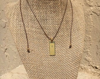 Our Father Prayer Necklace
