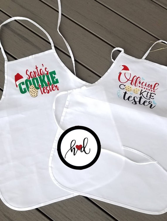 Holiday Aprons, Children\'s Aprons, Christmas Aprons, Kitchen Aprons, Kids  Aprons, Custom Aprons, Personalized Aprons, Kids Kitchen Aprons