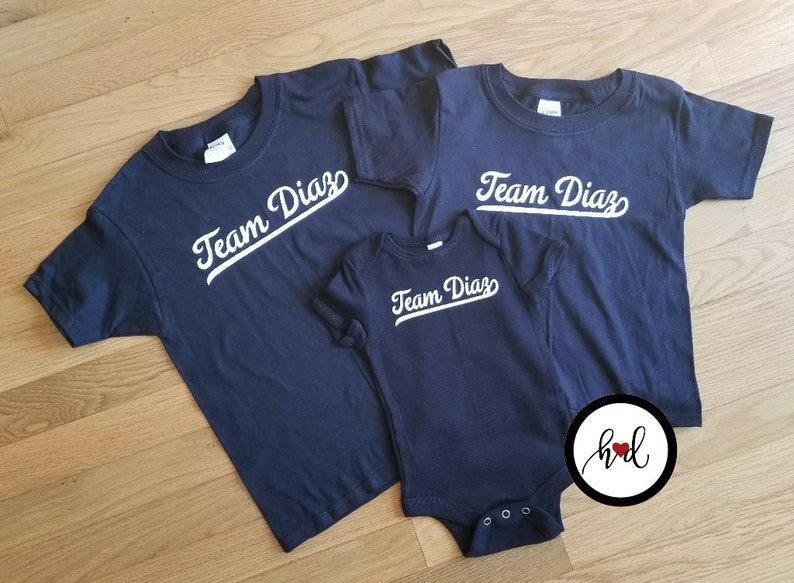 3c1ca0bed Family name t-shirt family name t-shirts family t-shirt   Etsy