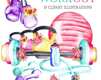 Sport Cliparts Etsy