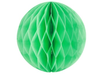 Honeycomb Ball,(mint green )  for party Birthday Photo Prop, Baby Shower Decoration,wedding, Bridal Shower Hanging Decor