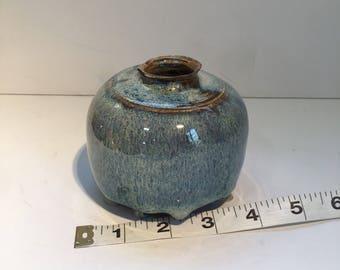 Mini Vase Glazed Pottery
