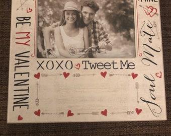 Personalized Valentine frame
