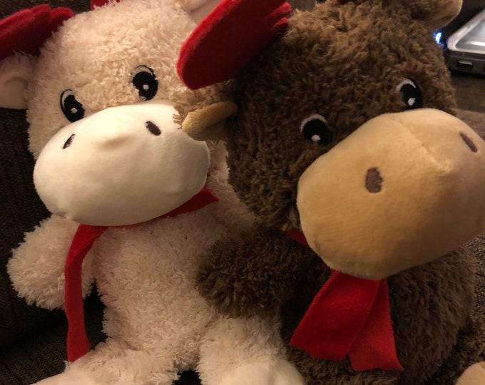 Personalized Reindeer (brown or tan)
