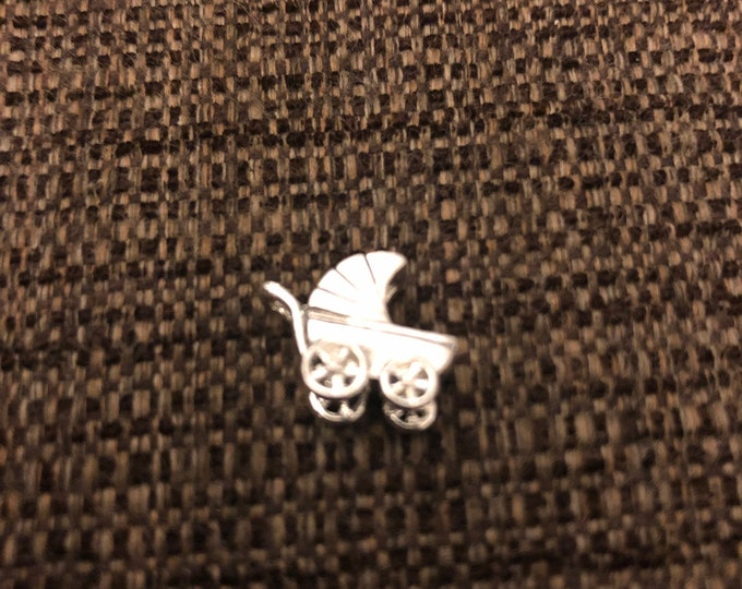 3D Baby Carriage Charm