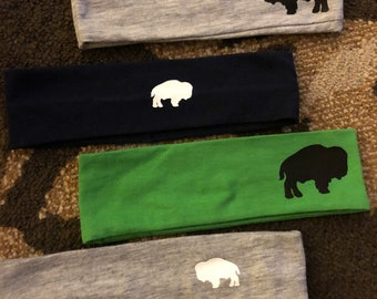 Buffalo headbands