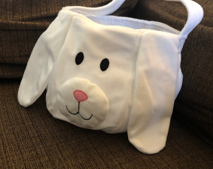 Easter: Personalized Bunny Easter Basket