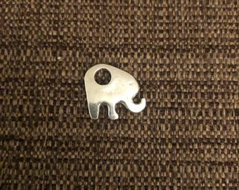 Elephant Charm (pewter)