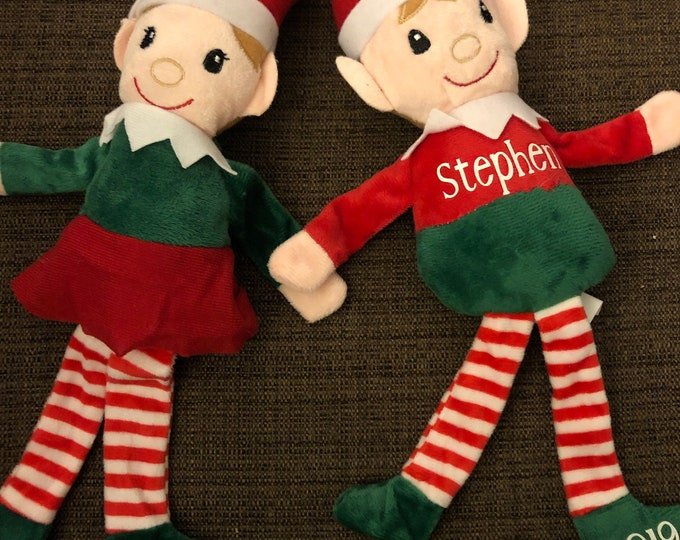 Personalized Elf (girl or boy)