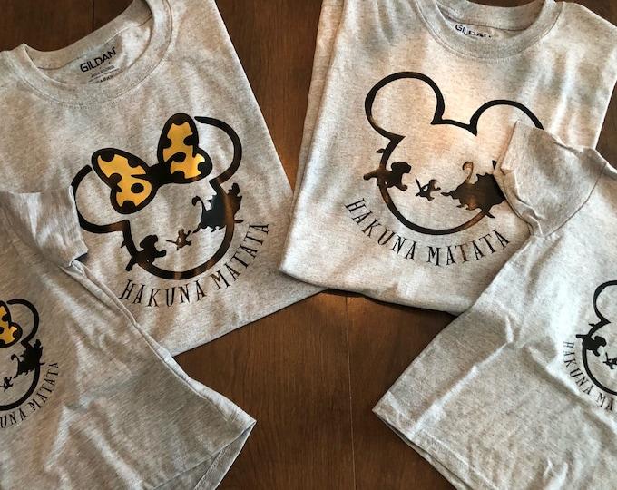 Family Mouse / Hakuna Matata Shirts
