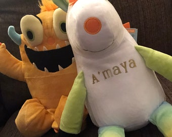 Personalized Stuffed Animal (monster or unicorn)