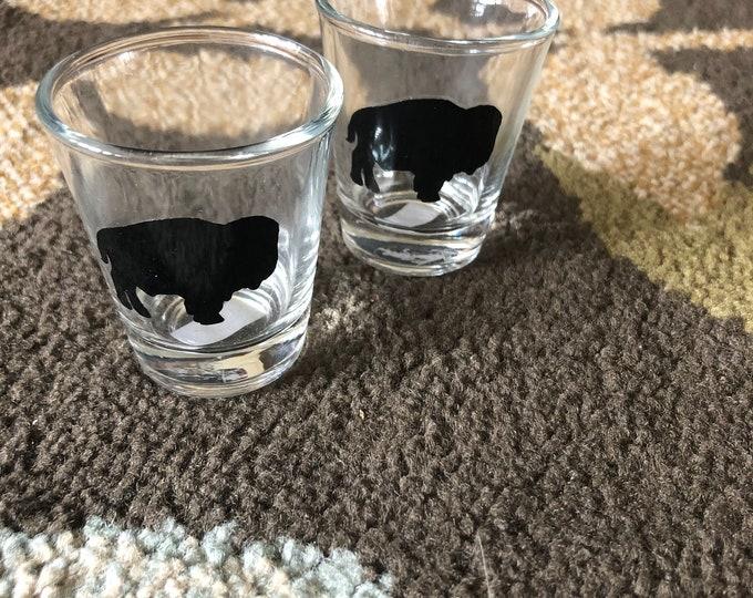 Buffalo Shot Glasses