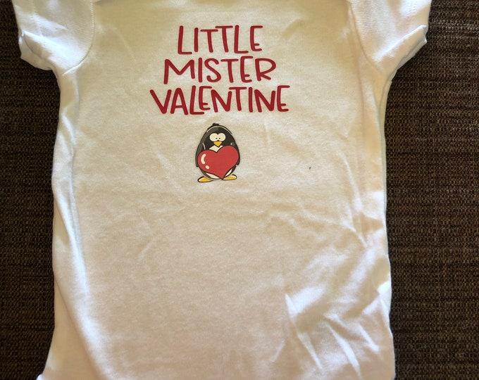 Valentine's Day: Little Mister Onesie/T-Shirt