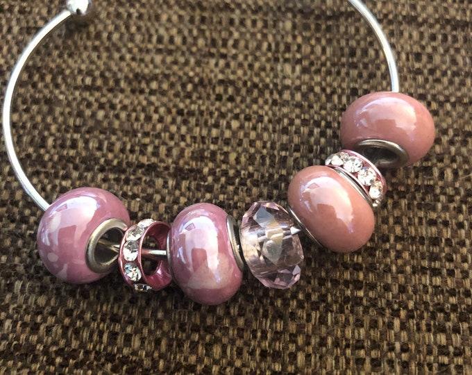 Glass bead bangle