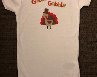 Thanksgiving: Gobble Gobble Onesie