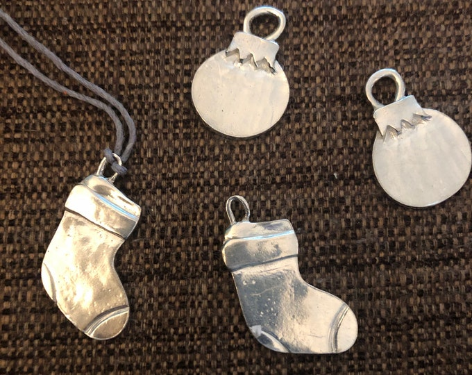Engraved Christmas Tree Ornament (Mini Ornaments - balls and stockings)