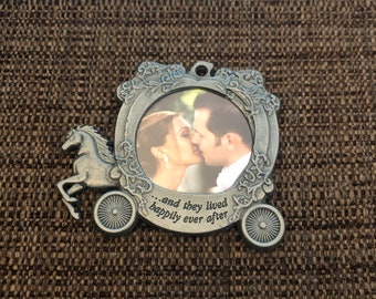 Engraved Christmas Tree Ornament (Happily Ever After)