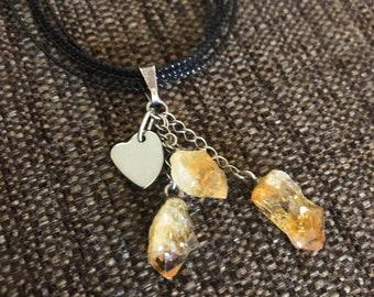 Natural Stone Pendants (personalized)