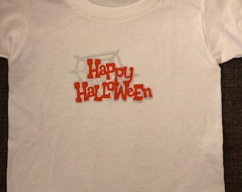 "3T Toddler ""Happy Halloween"" shirt (last one)"