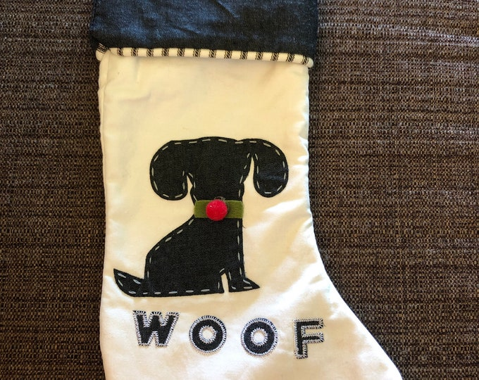 Personalized dog Stocking