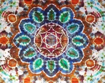 Mandala Tie Dye Tapestry
