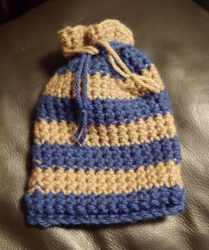 Hogwarts House Colors Crochet Bags