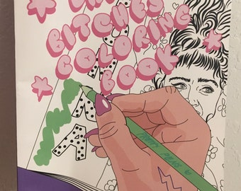 90s Coloring Book Etsy