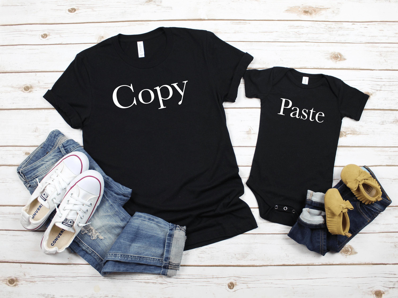 75e24b9e Cute Family Tshirt Sayings Mommy and Me Matching Tshirts | Etsy