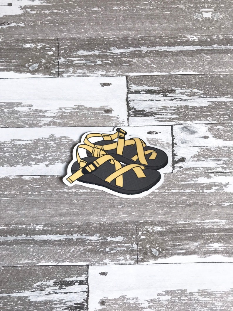 5bd8157b76ce Chacos Chacos Sticker Chaco Life Chaco Tan Sticker