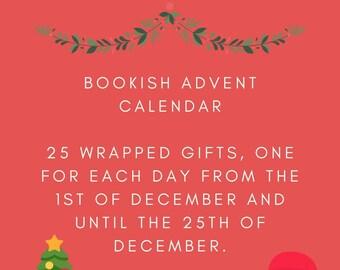 25 Days Of Christmas Advent Calendar For Book Lovers / Christmas Gift For Her / Book Lovers Care Package / Christmas Gift Set / Book Lovers