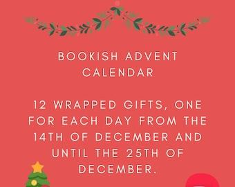 12 Days Of Christmas, Advent Calendar For Book Lovers / Christmas Gift For Her / Book Lovers Care Package / Christmas Gift Set / Book Lovers
