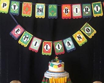 Cinco de Mayo - Fiesta Banner - Dia De Los Muertos - Del Sol Pennants
