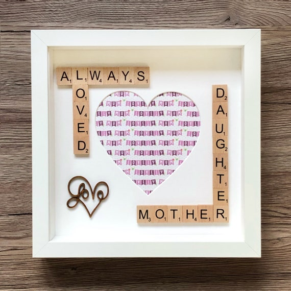 Mother Daughter Photo Frame Mothers Day Gift Mother Of The Etsy