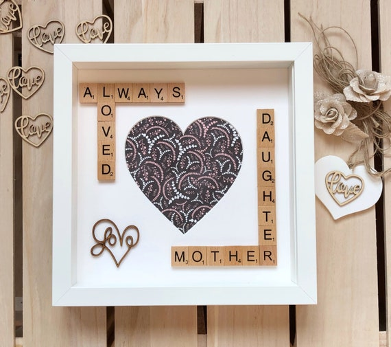 Mother Daughter Photo Frame. Mothers Day Gift. Mother of the   Etsy