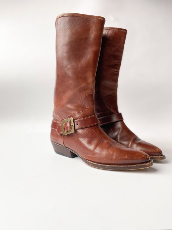 Vintage 80s Joan and David Western Boots 7
