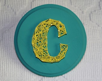 Personalized Letter String Art