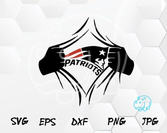 graphic about Printable Patriots Logo referred to as Patriots svg Etsy