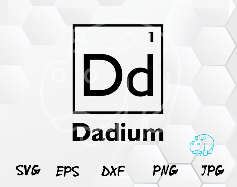 Dad Dadium Element 4th Of July Svg Super Dad Svg Super Dad Etsy