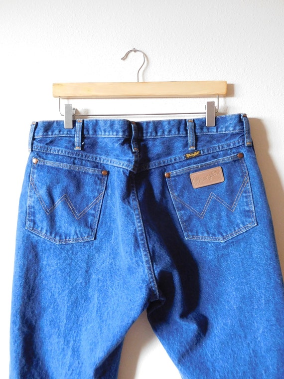 Waist 37 Wranglers Vintage 1970s 1980s Relaxed fit