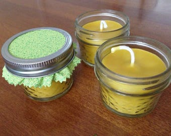 Citronella Coconut Beeswax Candles