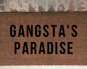 words to gangsta paradise